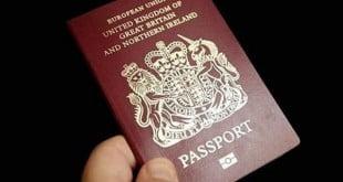 پیکاپ پاسپورت انگلیس