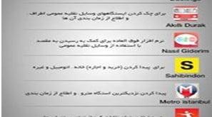 برنامه و شماره های ضروری ترکیه