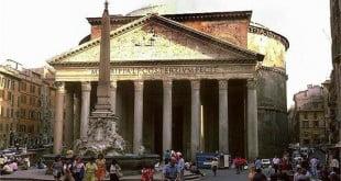 معبد پانتئون در رم ایتالیا