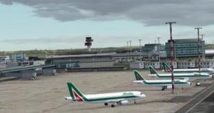 فرودگاه لئوناردو داوینچی رم ایتالیا