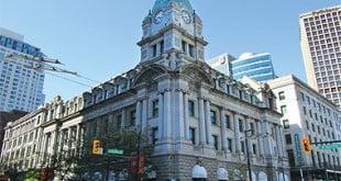 مرکز خرید سینکلیر سنتر ونکوور