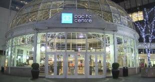 مرکز خرید pacific center ونکوور