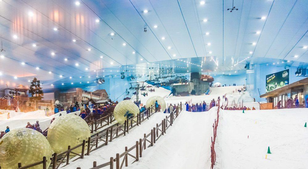 نتیجه تصویری برای پیست اسکی دبی (Ski Dubai)