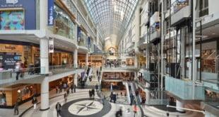 مرکز خرید eaton centre تورنتو