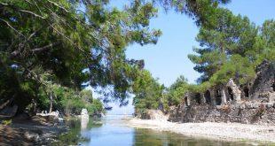 شهر باستانی الیمپوس آنتالیا