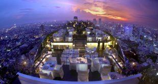 رستوران vertigo بانکوک تایلند