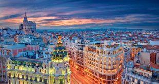 اطلاعات گردشگری مادرید,مادرید,کاخ سلطنتی اسپانیا,میدان بزرگ اسپانیا,گذرگاه خورشید,پارک بازنشستگی مادرید,خیابان گران بیا مادرید