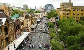 خیابان جورج استرالیا,خیابان جورج,درباره خیابان جورج استرالیا,آدرس خیابان جورج استرالیا,تاریخچه خیابان جورج استرالیا,خیابان های استرالیا