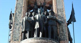 بنای یادبود جمهوری تکسیم,میدان تکسیم,خیابان استفلال استانبول,بنای یادبود جمهوری در میدان تکسیم,میدان تکسیم استانبول