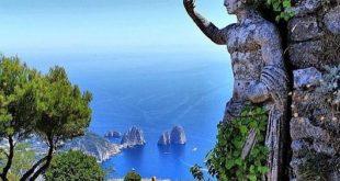 جزیره کاپری ایتالیا,جزیره کاپری در ایتالیا,شهر زیبای کاپری و انا کاپری در ایتالیا, تله کابین در انا کاپری,سفر به جزیره کاپری ایتالیا