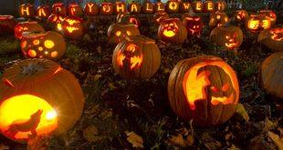 روز هالووین در کانادا,روز هالووین,گرفتن فال و بازی های ترسناک,تزیئن کردن کدو تنبل و اتش بازی,تاریخ جشن هالوین,رفتن به مکان های ترسناک و خالی