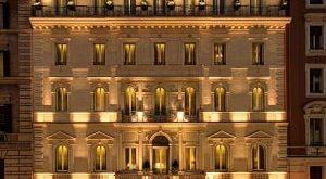 فاصله هتل ارتیمد تا جاذبه های رم,هتل ارتیمد,هتل ارتیمد در رم,معماری هتل ارتیمد,ساخت هتل ارتیمد,ایستگاه ترمینی قطار رم,فواره های تروی