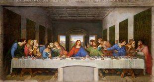 کلیسایی با شام اخر,اثر شام اخر,کلیسای سانتا ماریا,کلیسای سانتا ماریا در ایتالیا,تابلوی معروف شام اخر,کلیسای سانتا ماریا دل گرازی در ایتالیا